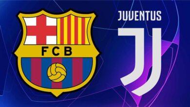 موعد وتشكيلة مباراة برشلونة ويوفنتوس