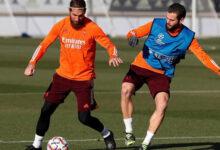 صورة تشكيلة فريق ريال مدريد: عودة راموس وكارفاخال لمواجهة جلادباخ