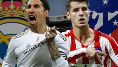 تشكيلة ريال مدريد في مباراة اليوم ضد اتلتيكو مدريد
