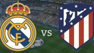 صورة معلق مباراة ريال مدريد القادمة أمام أتلتيكو مدريد السبت في الدوري الإسباني