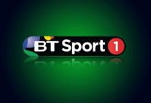تردد قناة BT SPORT 1 HD