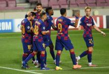 صورة موعد مباراة برشلونة وكورنيا في كأس الملك والقنوات الناقلة