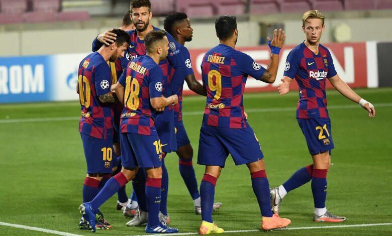 موعد مباراة برشلونة وكورنيا في كأس الملك