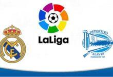 صورة موعد مباراة ريال مدريد القادمة ضد ألافيس والقنوات الناقلة