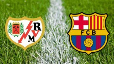 صورة موعد مباراة برشلونة ورايو فاليكانو في كأس ملك إسبانيا والقنوات الناقلة