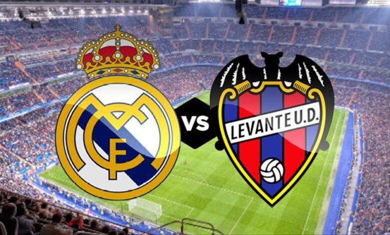موعد مباراة ريال مدريد وليفانتي