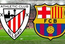 صورة تشكيلة مباراة برشلونة المتوقعة ضد أتلتيك بيلباو في الدوري الإسباني