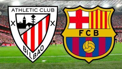 تشكيلة مباراة برشلونة المتوقعة ضد أتلتيك بيلباو
