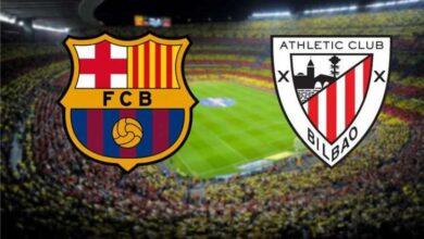 تشكيلة برشلونة المتوقعة لمواجهة اتلتيك بلباو