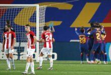 تشكيلة برشلونة المتوقعة ضد بلباو