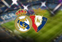 معلق مباراة ريال مدريد القادمة ضد أوساسونا