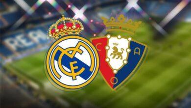 صورة معلق مباراة ريال مدريد القادمة ضد أوساسونا اليوم السبت في الدوري الإسباني