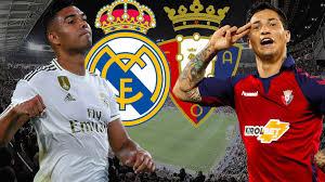 تشكيلة ريال مدريد المتوقعة في مباراة اليوم ضد أوساسونا