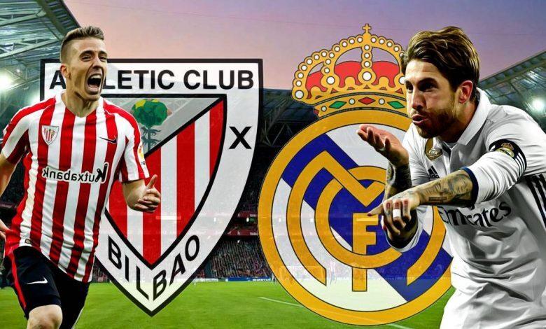 تشكيلة ريال مدريد المتوقعة في مباراة اليوم ضد أتلتيك بلباو