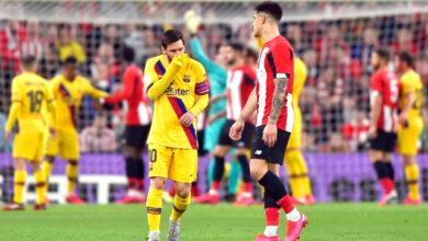 موعد مباراة برشلونة واتلتيك بلباو في كأس السوبر الإسباني