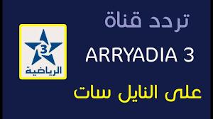 تردد قناه الرياضية المغربية 2021