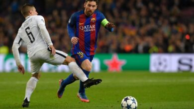 تشكيلة برشلونة أمام باريس سان جيرمان