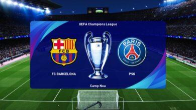 تشكيلة برشلونة اليوم أمام باريس سان جيرمان