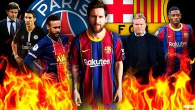 تشكيلة برشلونة المتوقعة ضد باريس