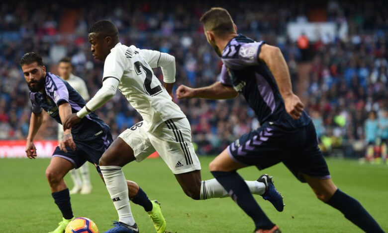 تردد القنوات المفتوحة الناقلة لمباراة ريال مدريد