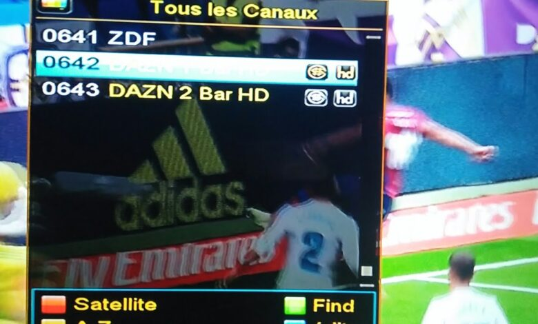 DAZN 1 Bar Deutsch HD