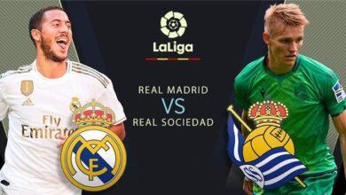 موعد مباراة ريال مدريد