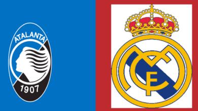 القنوات المفتوحة الناقلة لمباراة ريال مدريد واتلانتا