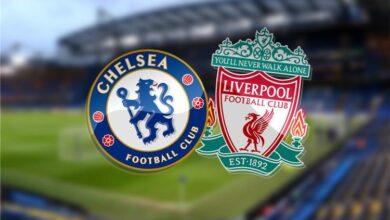 تشكيلة ليفربول ضد تشيلسي
