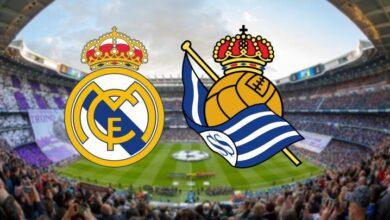تشكيلة ريال مدريد ضد ريال سوسيداد