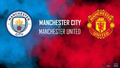 تشكيلة مانشستر سيتي أمام مانشستر يونايتد