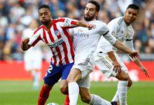تشكيلة ريال مدريد أمام أتلتيكو مدريد