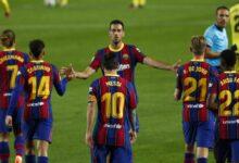 تشكيلة برشلونة ضد إشبيلية