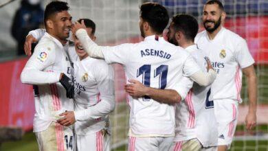 معلق مباراة ريال مدريد وإلتشي