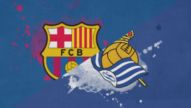 مشاهدة مباراة برشلونة وريال سوسيداد الان مباشر