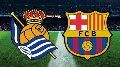 تشكيلة برشلونة المتوقعة ضد ريال سوسيداد