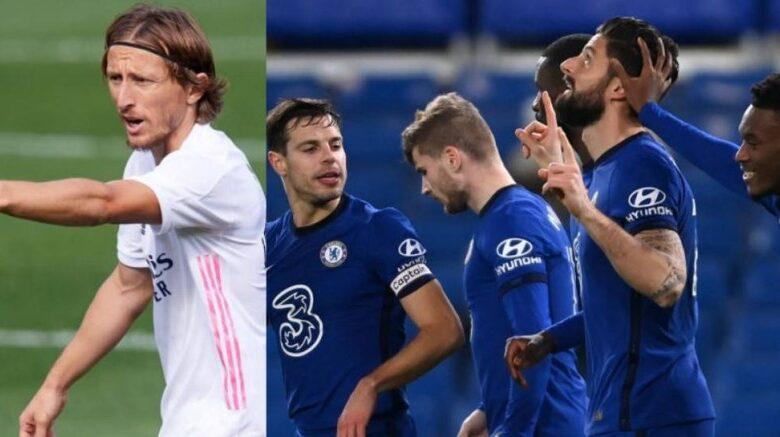 تردد القنوات المفتوحة الناقلة لمباراة ريال مدريد ضد تشيلسي