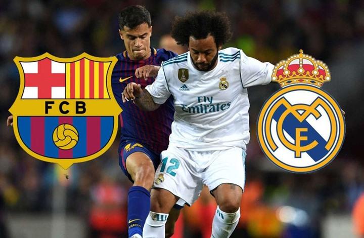 القنوات المفتوحة الناقلة لمباراة ريال مدريد وبرشلونة