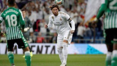 موعد مباراة ريال مدريد وريال بيتيس