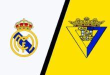 موعد مباراة ريال مدريد وقادش