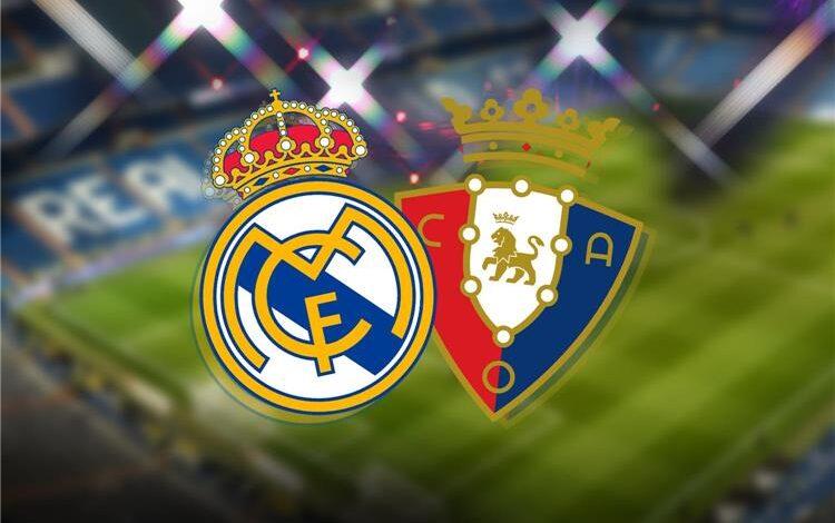 تشكيلة ريال مدريد ضد أوساسونا