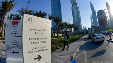 موعد التطعيم في الإمارات العربية المتحدة