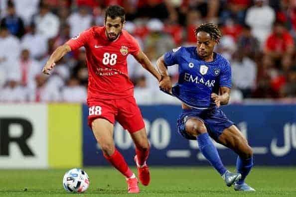 مشاهدة مباراة الهلال وشباب الأهلي دبي بث مباشر