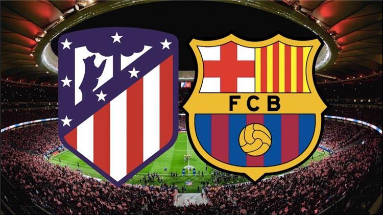 تشكيلة برشلونة وأتلتيكو مدريد