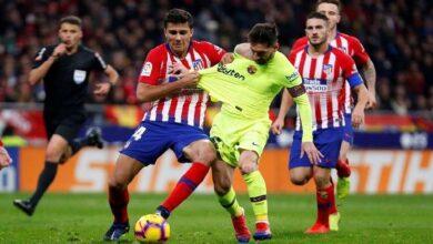 تشكيلة برشلونة ضد أتلتيتكو مدريد