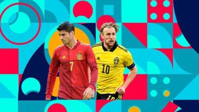 القنوات المفتوحة الناقلة لمباراة إسبانيا والسويد