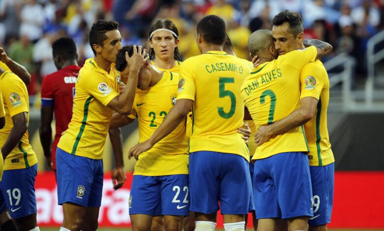 تشكيلة البرازيل ضد الإكوادور